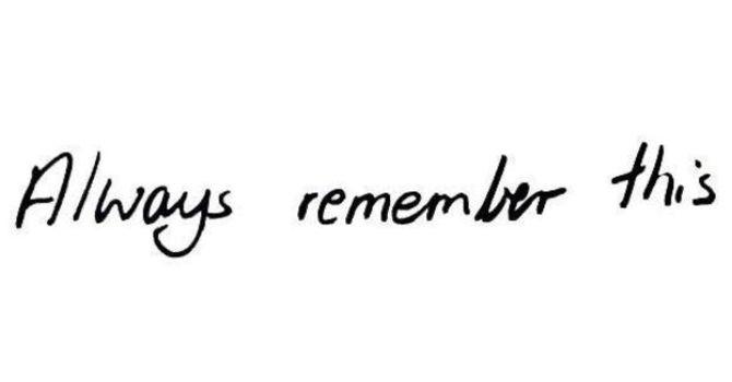 Something to remember! image